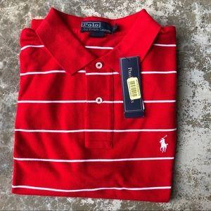 NWT Ralph Lauren Striped Polo Shirt - L
